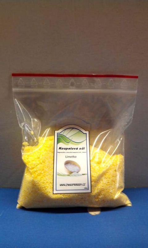 kosmetika, chemikálie Koupelová sůl eukalyptus 200 g