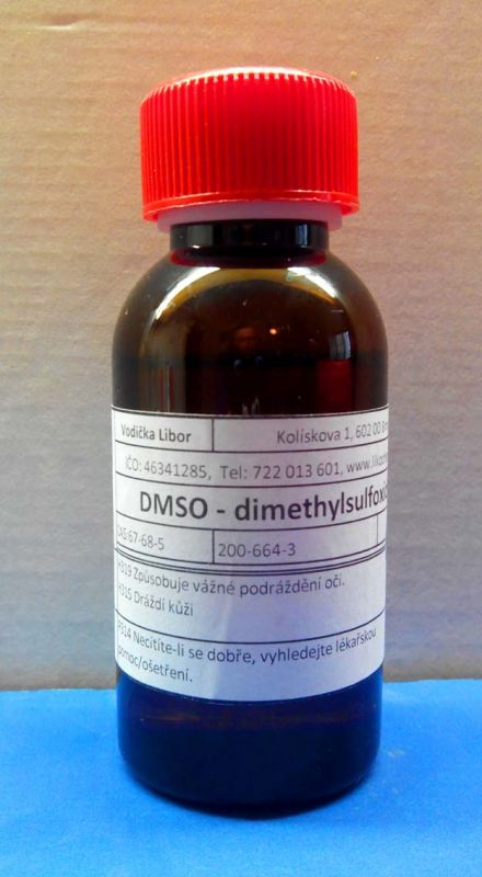 DMSO - Dimethylsulfoxid 98,0% 50 ml
