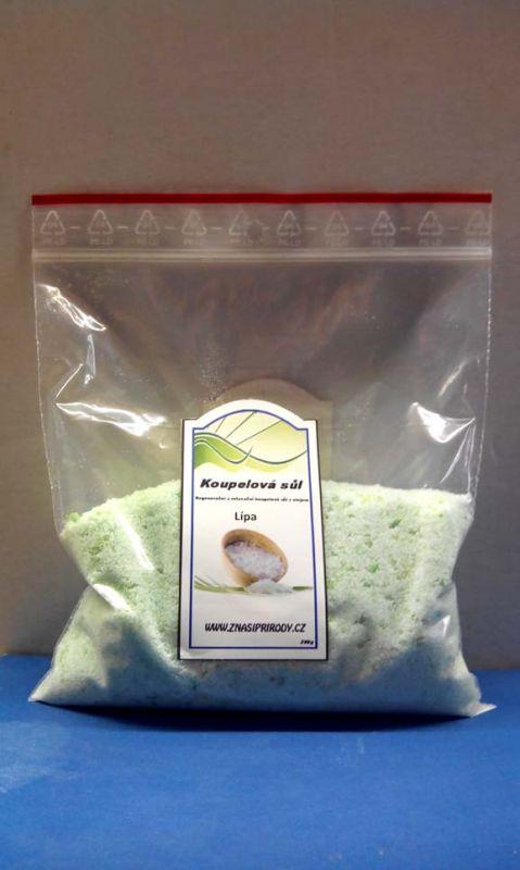 Koupelová sůl lípa 200 g