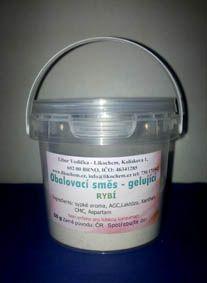 kosmetika, chemikálie Obalovací směs gelující DIP - rybí 50 g
