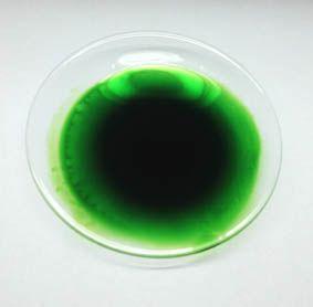 kosmetika, chemikálie Zelené kosmetické barvivo 10 ml