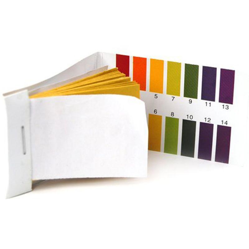 kosmetika, chemikálie Lakmusové papírky, pH 1 - 12 - 10 Ks